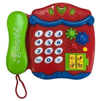 اسباب بازی آموزشی تویز لند مدل تلفن