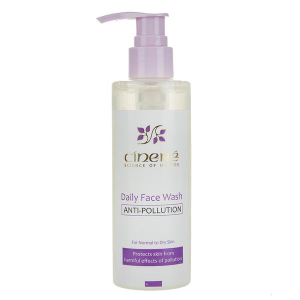 ژل شست و شوی صورت ضد آلودگی سینره مدل Normal To Dry Skin حجم 200 میلی لیتر