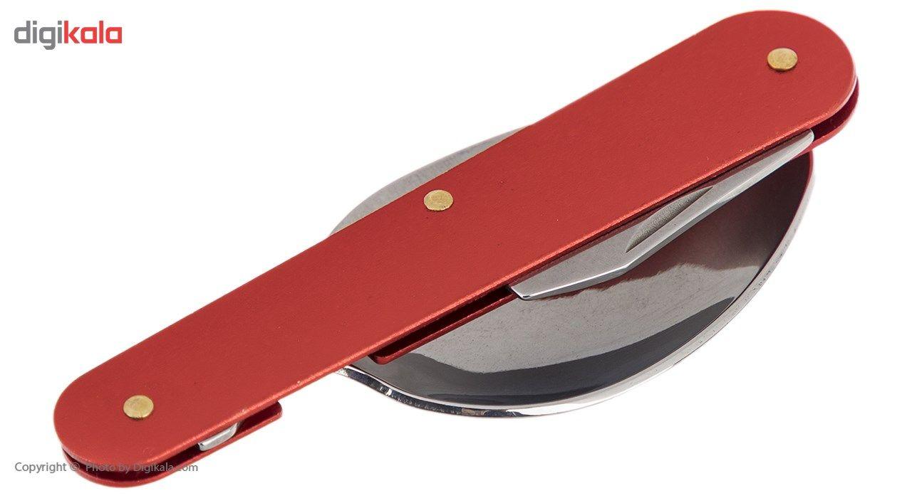 مجموعه قاشق، چنگال و چاقوی سفری مدل FX-8332 main 1 4
