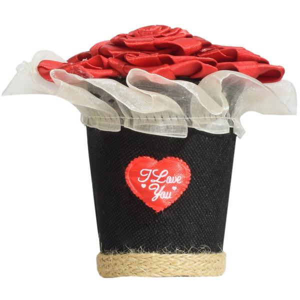 گلدان تزئینی ویولا مدل Love