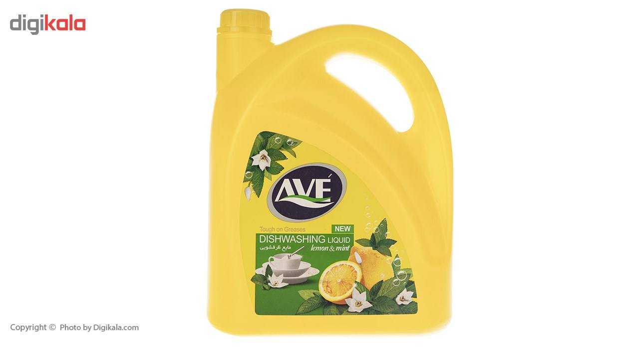 مایع ظرفشویی اوه مدل Lemon And Mint مقدار 3750گرم main 1 1