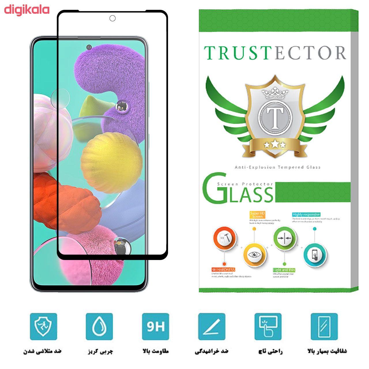 محافظ صفحه نمایش سرامیکی تراستکتور مدل CMT مناسب برای گوشی موبایل سامسونگ Galaxy A51 main 1 2