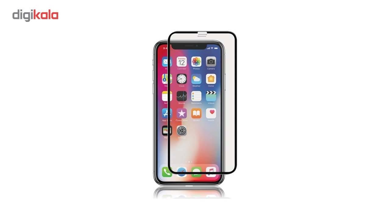 محافظ صفحه نمایش شیشه ای ریمکس مدل 5D Tempered مناسب برای گوشی موبایل Iphone X main 1 1