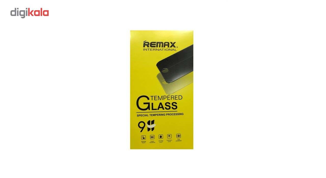 محافظ صفحه نمایش شیشه ای ریمکس مدل 5D Tempered مناسب برای گوشی موبایل Iphone X main 1 2