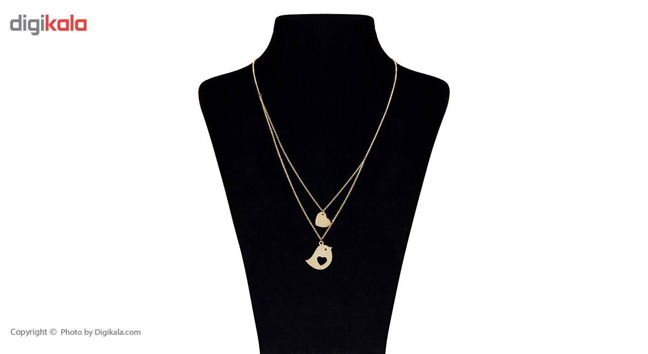 گردنبند طلا 18 عیار ماهک مدل MM0611 - مایا ماهک -  - 1