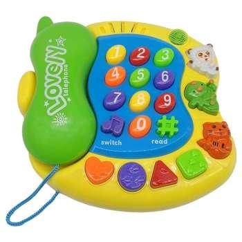 اسباب بازی آموزشی کیدتونز مدل تلفن کد KTF-001