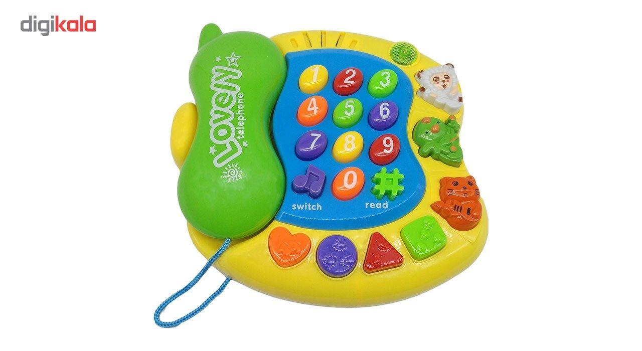 اسباب بازی آموزشی کیدتونز مدل تلفن کد KTF-001 main 1 1