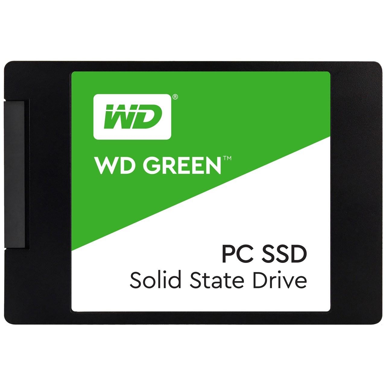 اس اس دی اینترنال وسترن دیجیتال مدل Green PC WDS120G2G0A ظرفیت 120 گیگابایت