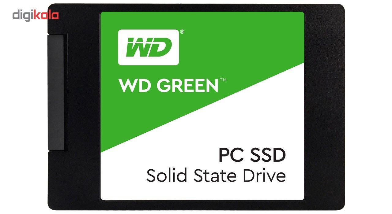 اس اس دی اینترنال وسترن دیجیتال مدل Green PC WDS120G2G0A ظرفیت 120 گیگابایت  Western Digital Green