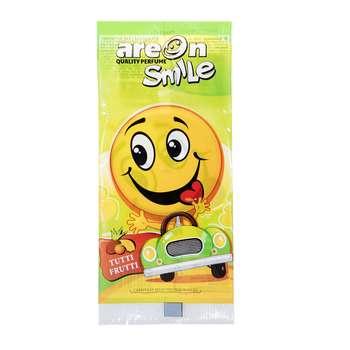 خوشبو کننده ماشین آرئون مدل Smile با رایحه بستنی میوه ای