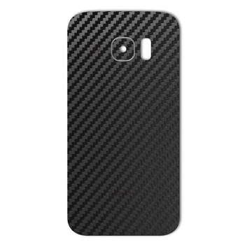 برچسب پوششی ماهوت مدل Carbon-fiber Texture مناسب برای گوشی  Samsung S7