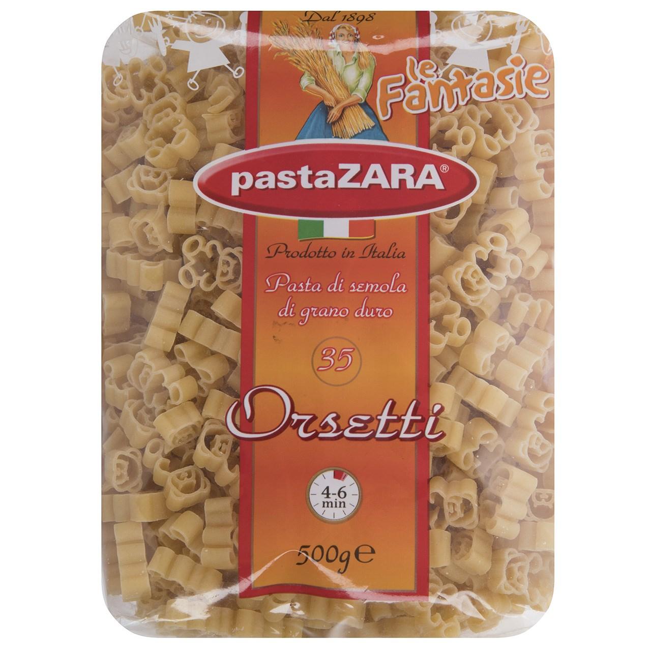 پاستا پاستا زارا مدل Drsetti مقدار 500 گرم