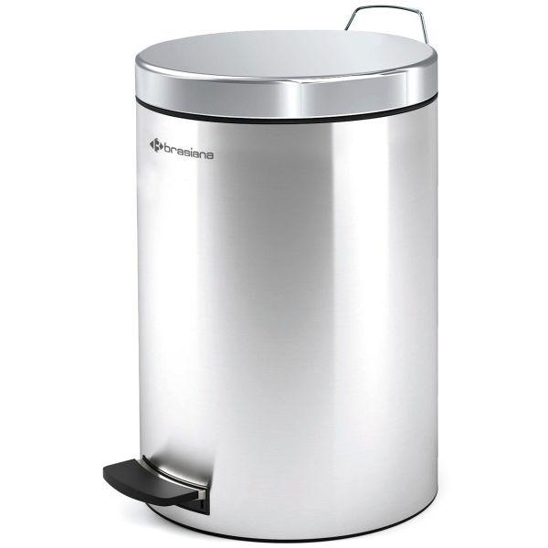 سطل زباله پدالی براسیانا ظرفیت 12 لیتر - کد615