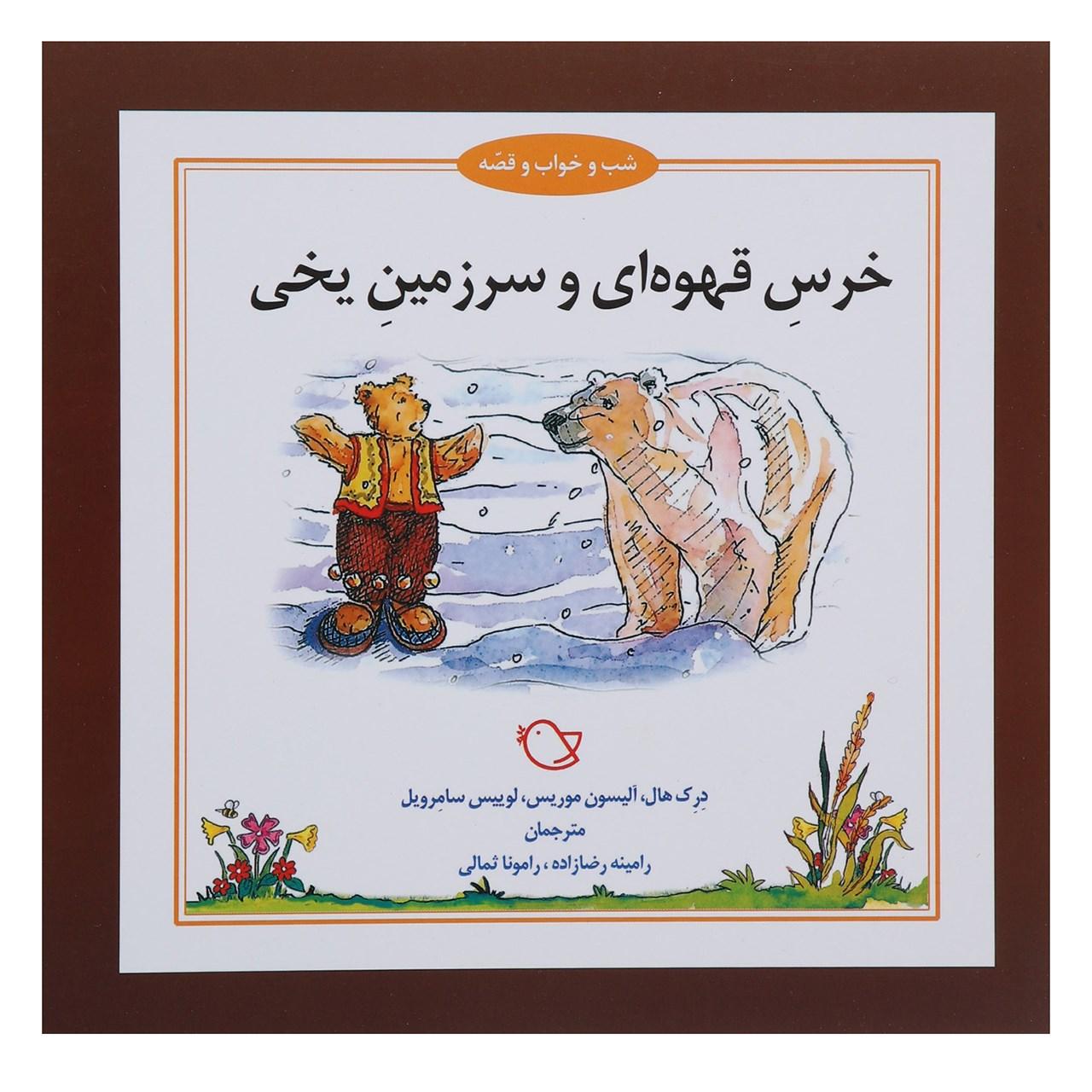 کتاب خرس قهوه ای و سرزمین یخی اثر درک هال