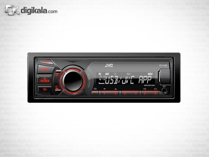 پخش کننده خودرو جی وی سی KD-X100