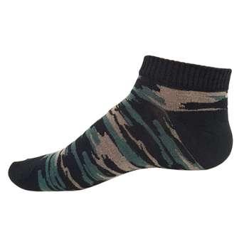 جوراب مردانه پالوته مدل چریکی PMCH-GG
