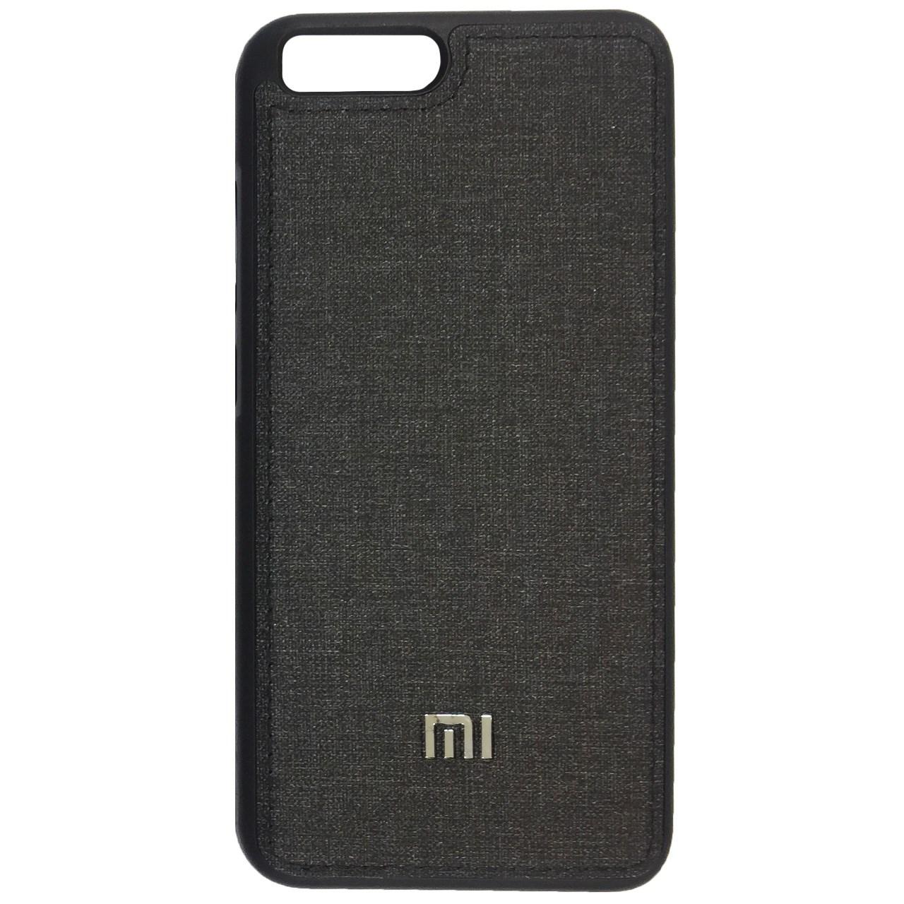 کاور ژله ای طرح پارچه مناسب برای گوشی موبایل شیاومی Mi 6