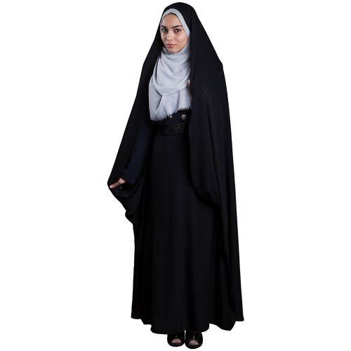 چادر  کمری حسنا مجلسی حجاب فاطمی مدل 201079