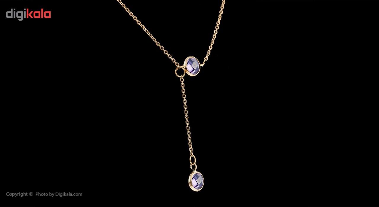 گردنبند طلا 18 عیار ماهک مدل MM0561 - مایا ماهک -  - 2