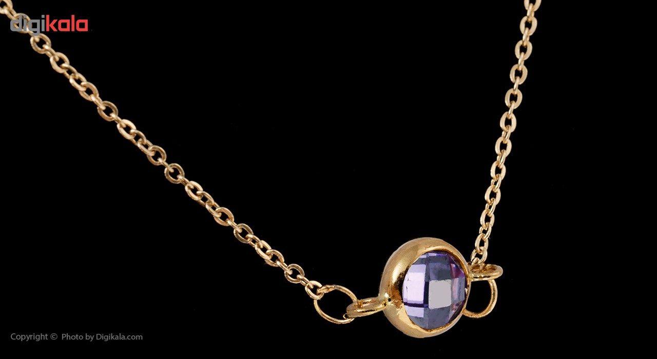 گردنبند طلا 18 عیار ماهک مدل MM0561 - مایا ماهک -  - 6