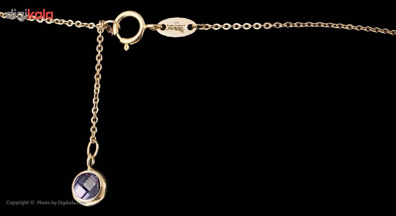 گردنبند طلا 18 عیار ماهک مدل MM0561 - مایا ماهک -  - 9