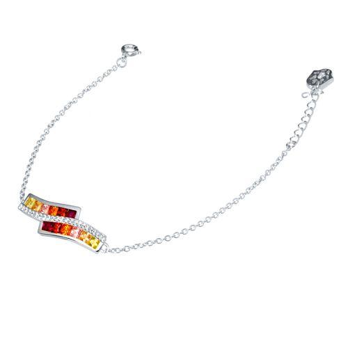 دستبند نقره اقلیمه کد DN221