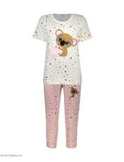 ست تی شرت و شلوارک راحتی زنانه مادر مدل 2041103-84 -  - 2