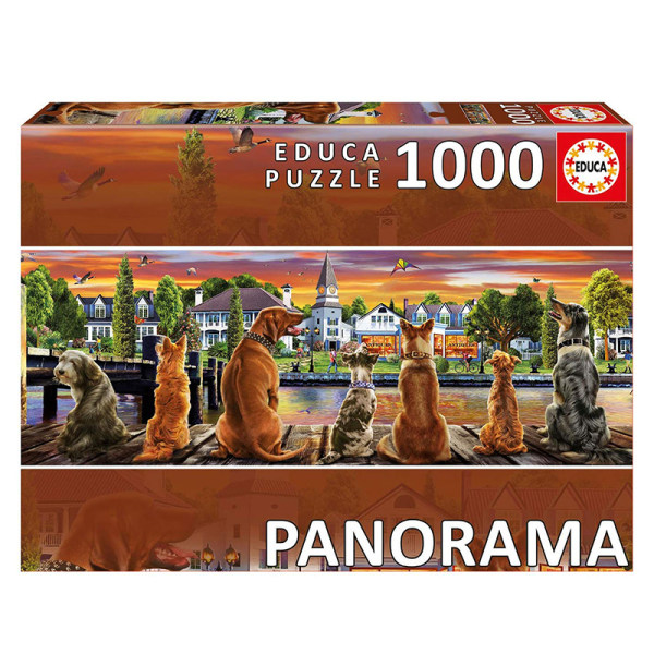 پازل 1000 تکه ادوکا مدل panoroma