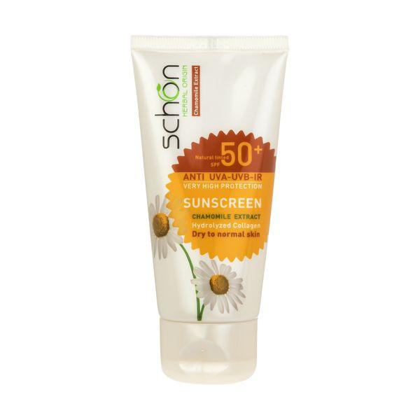 کرم ضد آفتاب شون با رنگ طبیعی +SPF50
