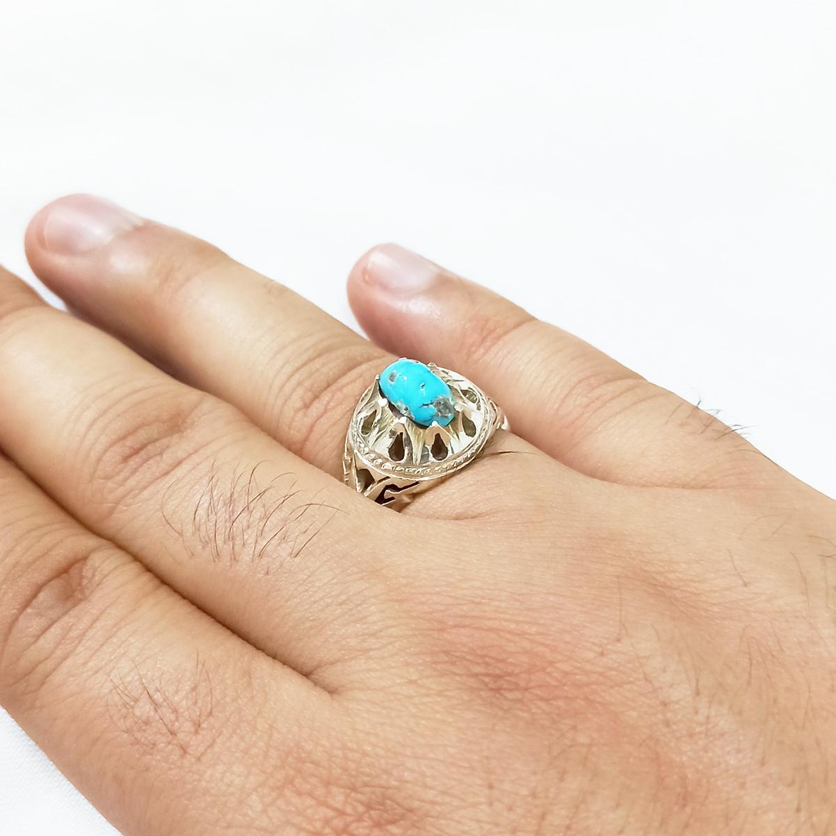 انگشتر نقره مردانه سلین کالا کد ce-As153
