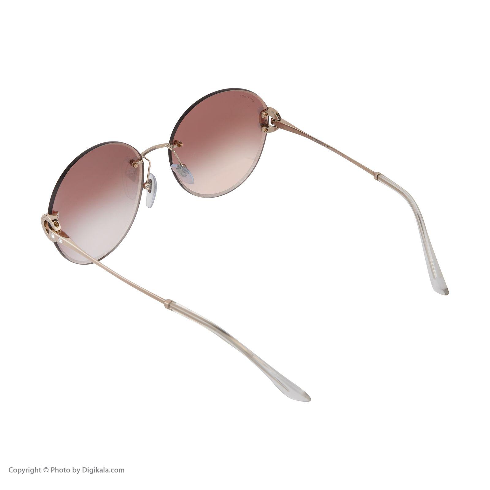 عینک آفتابی زنانه بولگاری مدل BV6091B 20146F -  - 5