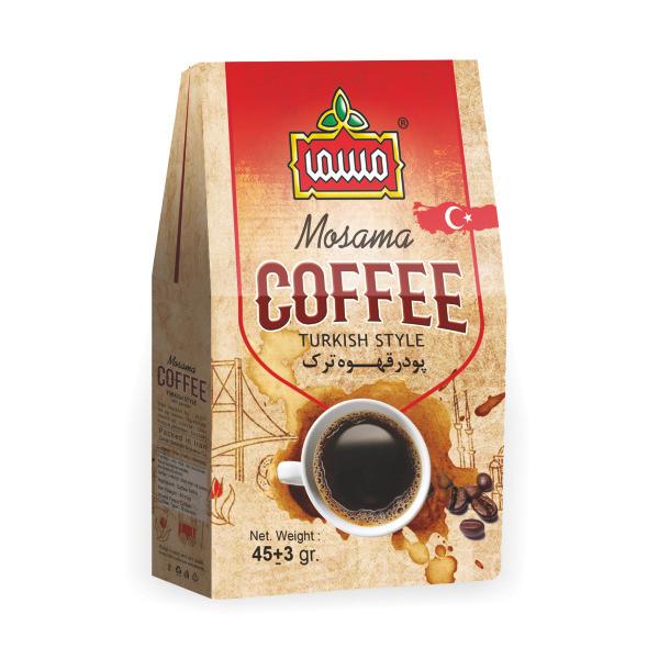 پودر قهوه ترک مسما - 45 گرم