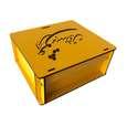جعبه هدیه چوبی مدل j153 thumb 2