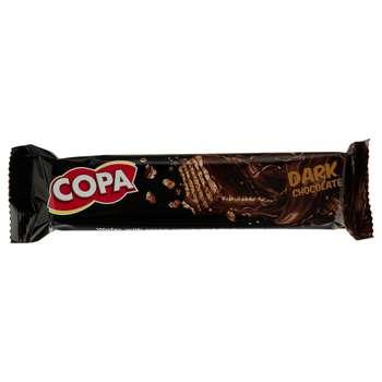 ویفر با روکش شکلات تلخ کوپا مقدار 40 گرم