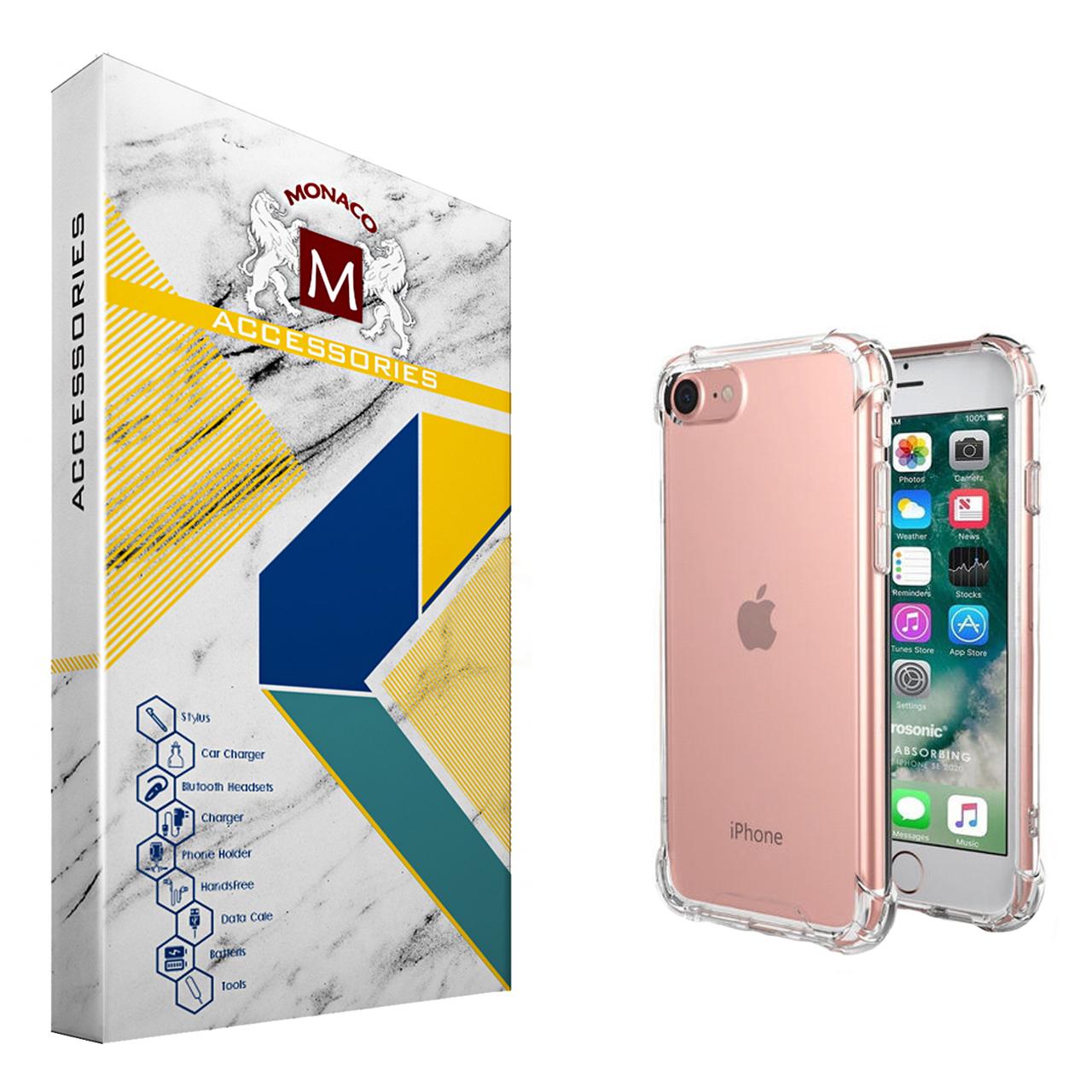 کاور موناکو مدل Shine مناسب برای گوشی موبایل اپل iPhone SE 2020