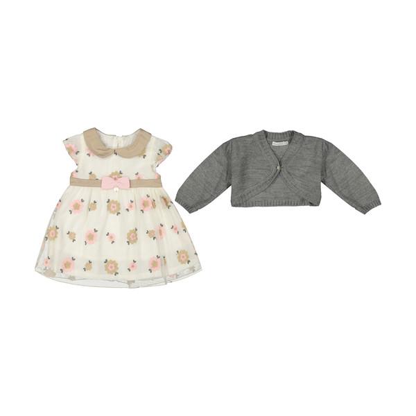 ست پیراهن و ژاکت دخترانه مونا رزا مدل 2141236-01