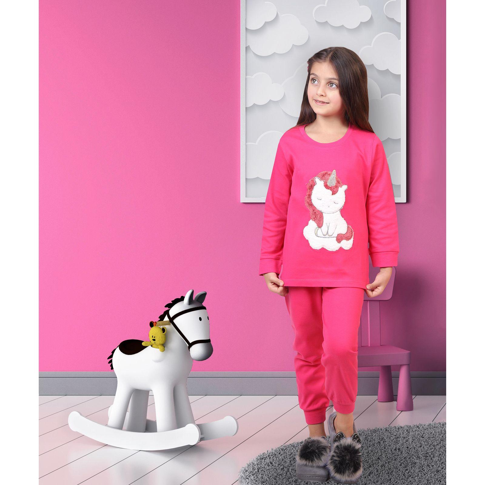 ست تی شرت و شلوار دخترانه مادر مدل 303-66 main 1 10