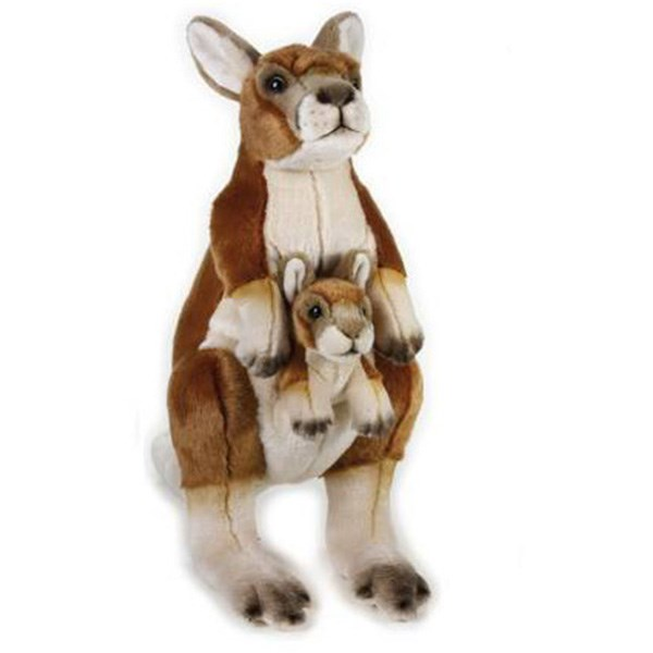 مشخصات قیمت و خرید عروسک کانگورو و بچه کانگورو للی کد 770762 سایز 5 ...