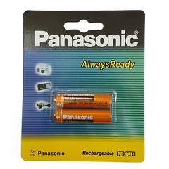 باتری نیم قلمی قابل شارژ پاناسونیک مدل HHR-83AAABU - بسته 2 عددی