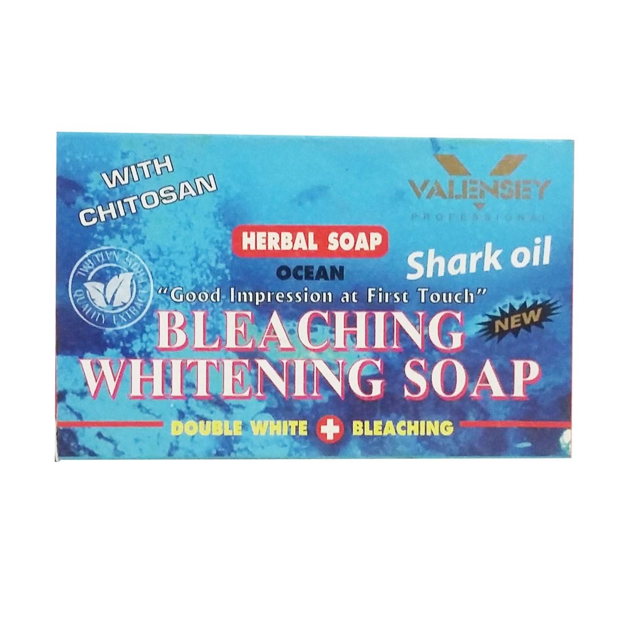 قیمت صابون روشن کننده والنسی حاوی  روغن کوسه مقدار 70 گرم
