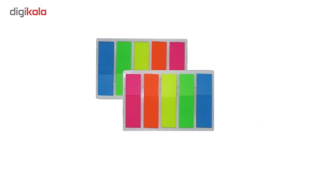 کاغذ یادداشت چسب دار فانزی مدل Multicolor - بسته 200 عددی main 1 1