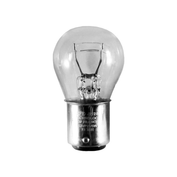 لامپ خودرو دو کنتاک  اس اف آر مدل P21.5W بسته 10 عددی