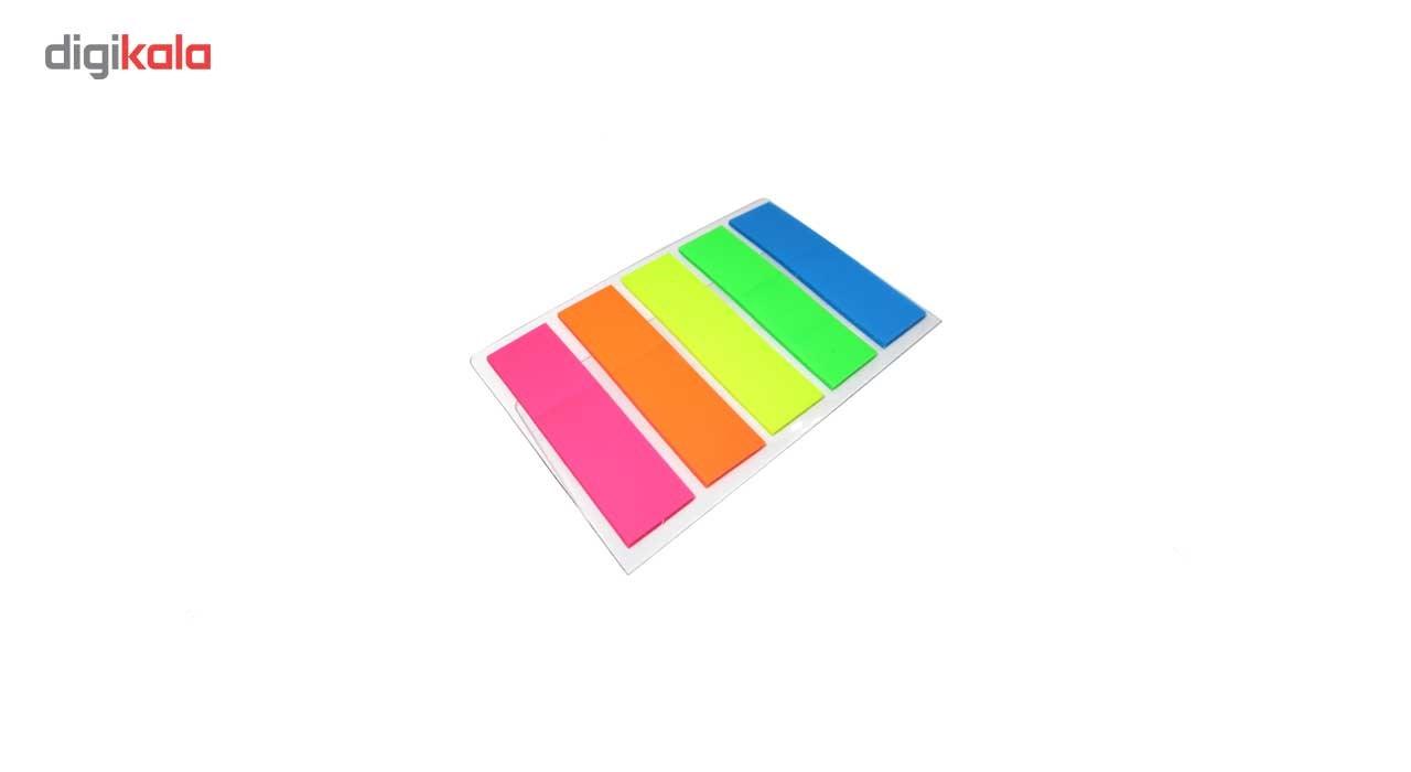 کاغذ یادداشت چسب دار فانزی مدل Multicolor - بسته 200 عددی main 1 2