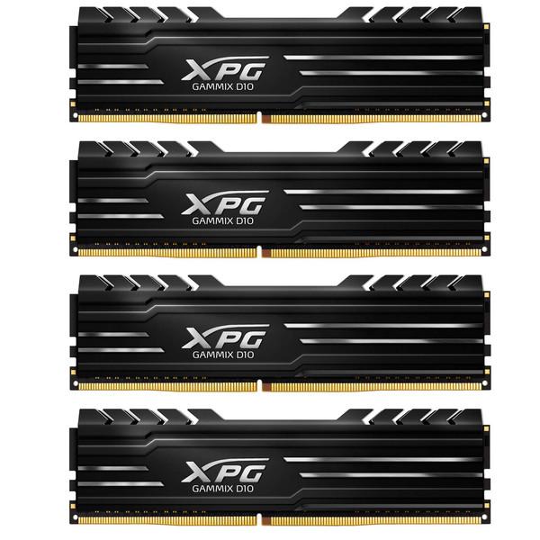 رم کامپیوتر دو کاناله DIMM ای دیتا مدل XPG GAMMIX D10 با فرکانس 2800 مگاهرتز ظرفیت 64 گیگابایت