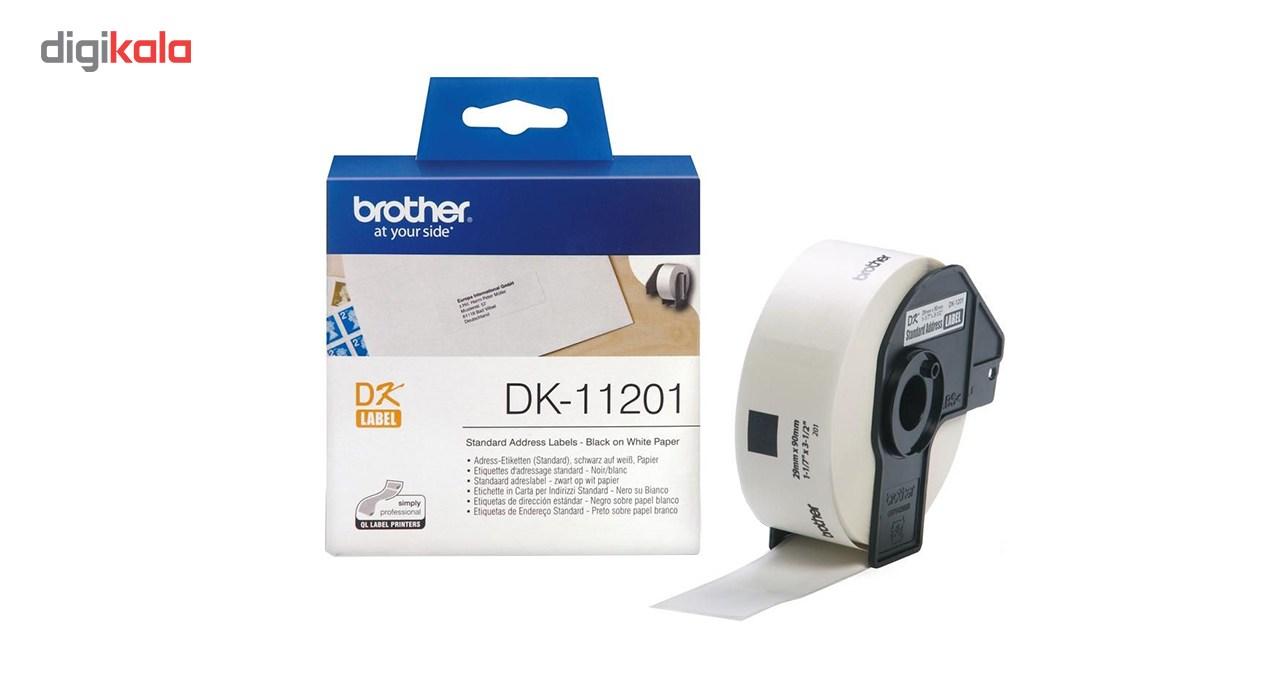 قیمت                      برچسب پرینتر لیبل زن برادر مدل DK-11201
