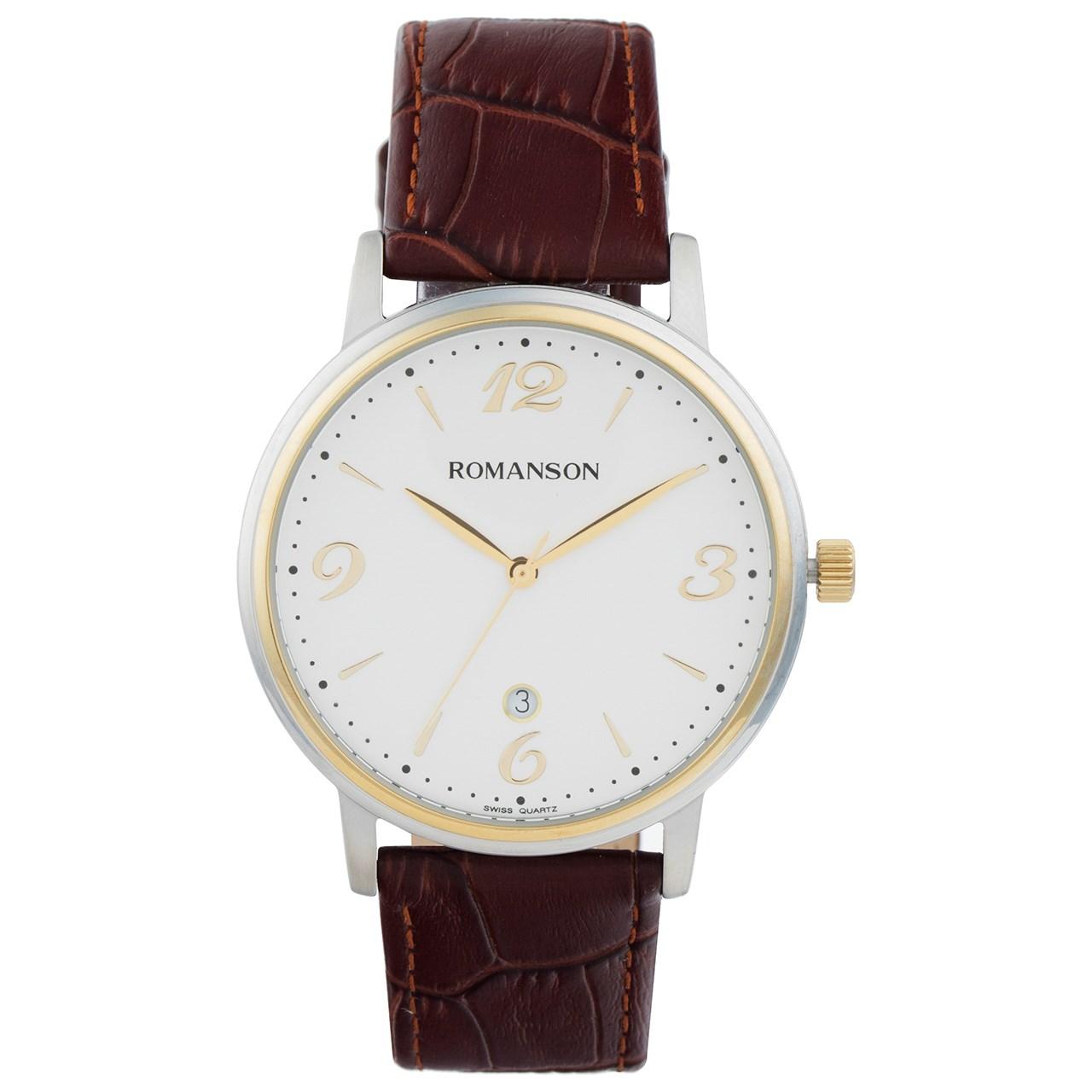 ساعت مچی عقربه ای مردانه رومانسون مدل TL4259MM1CA11G 28