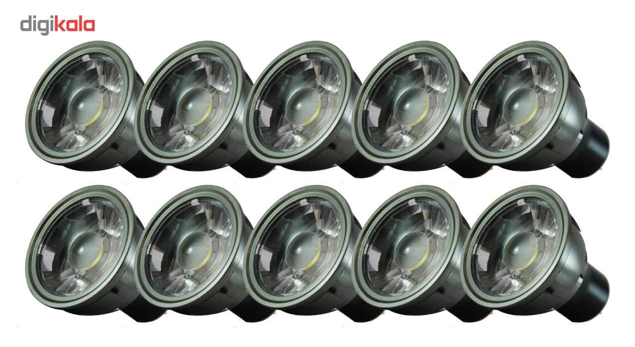 لامپ ال ای دی 3 وات تکنوتل مدل 5503 پایه GU5.3 بسته 10 عددی main 1 1