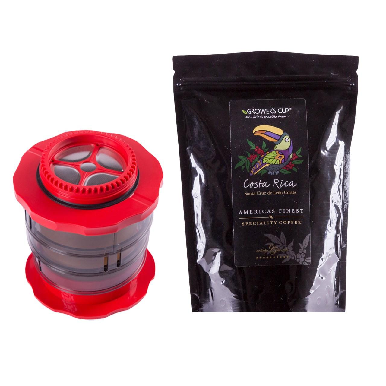 قهوه ساز کافلانو مدل Kompact به همراه یک بسته دانه قهوه