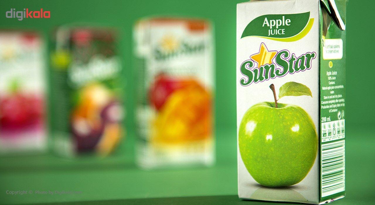 آبمیوه سیب سان استار حجم 0.2 لیتر main 1 1