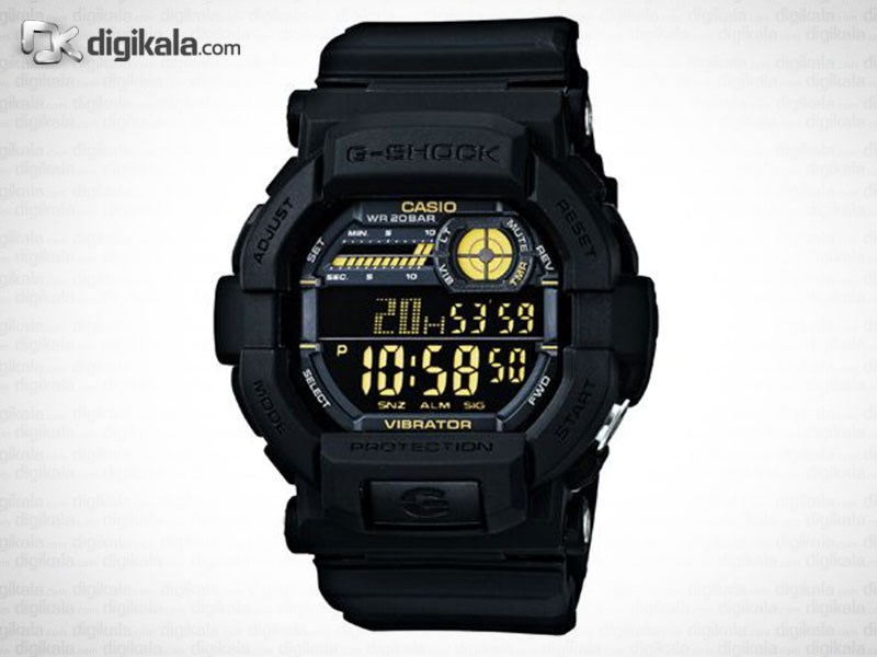 خرید ساعت مچی کاسیو جی شاک GD-350-1BDR | ساعت مچی